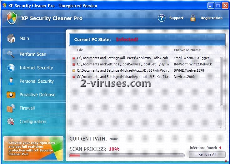 related image #1 from XP Security Cleaner Pro