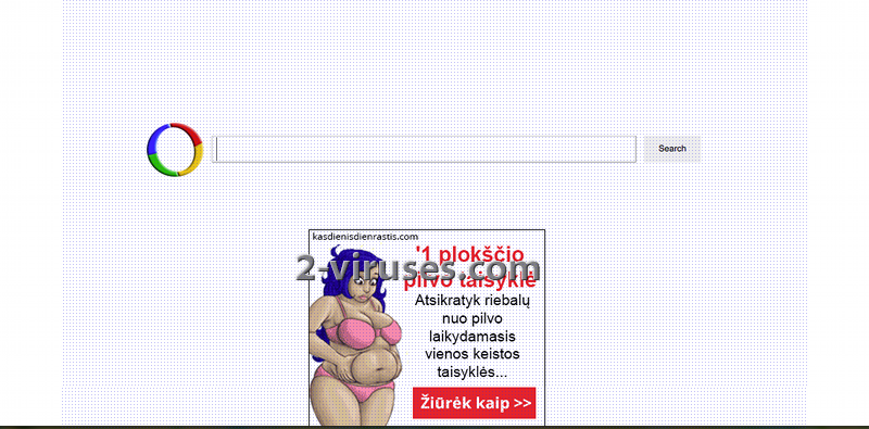 Le virus Websearch.calcitapp.info