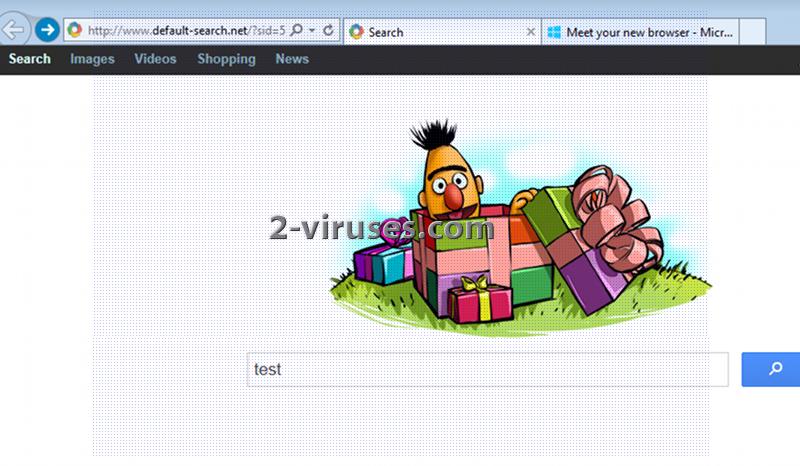 Le virus Default-search.net