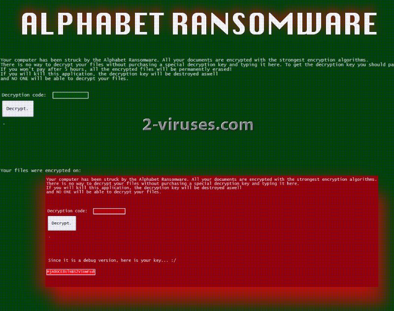 Le virus Alphabet