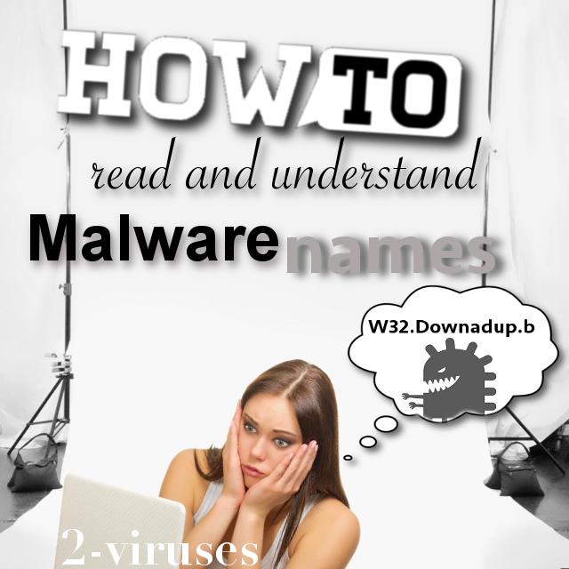 Comment lire et comprendre les noms des malwares