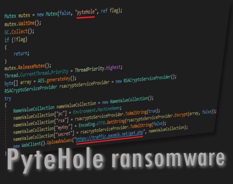 Le ransomware PyteHole