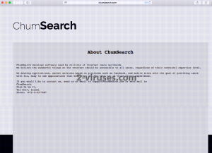 Le virus Chumsearch.com