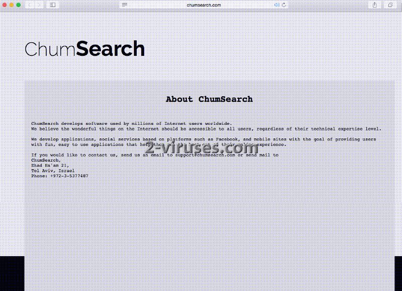 chumsearch 2 viruses
