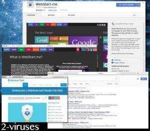 Le virus Webstart.me