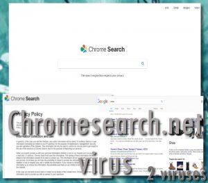 Le virus Chromesearch.net