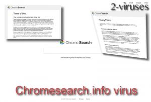 Le virus Chromesearch.info
