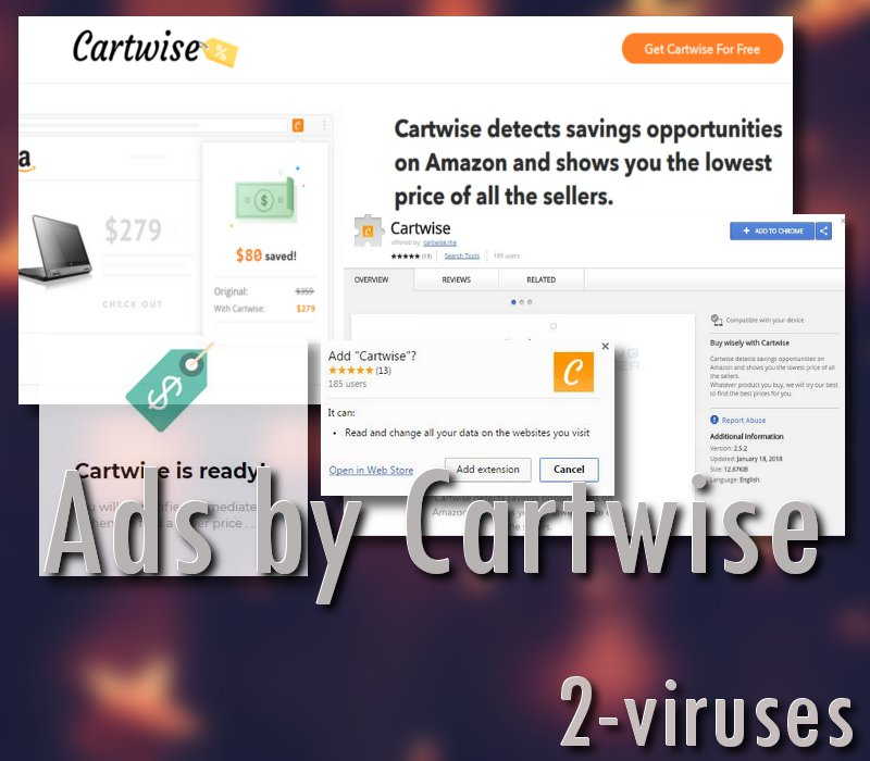 Cartwise adware