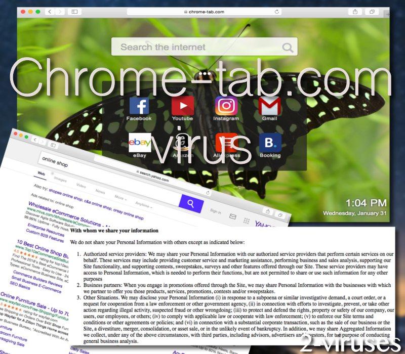 Chrome-tab.com virus