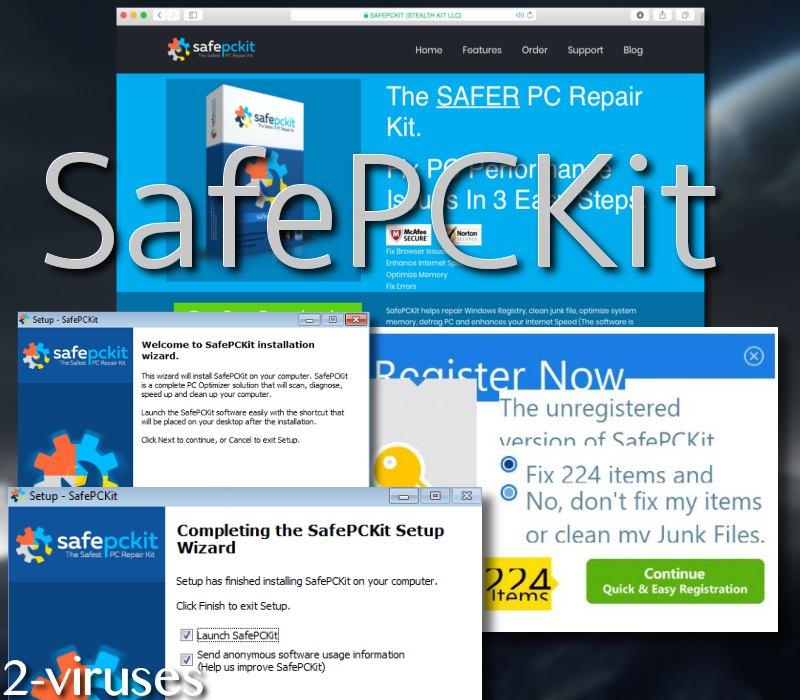 SafePCKit virus
