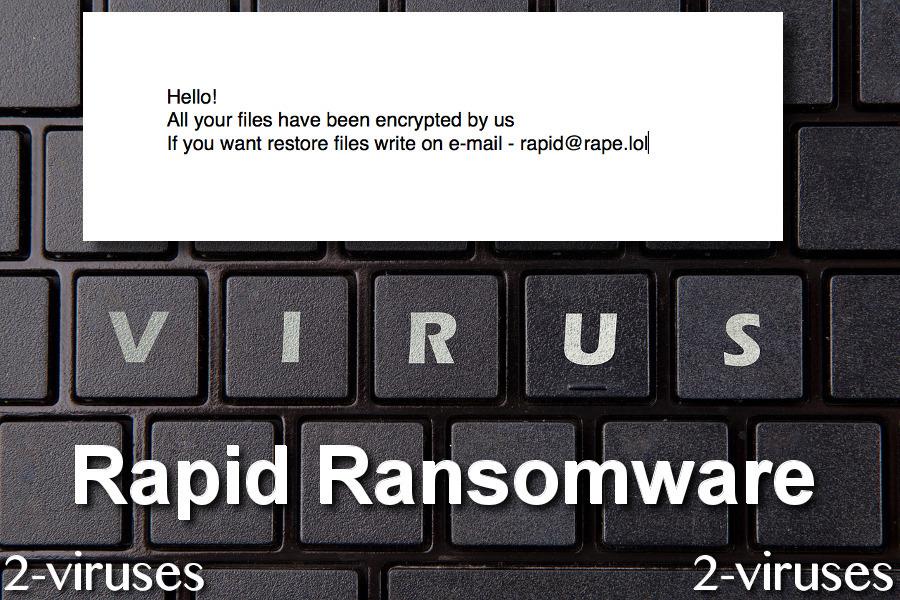 Rapid Ransomware remove