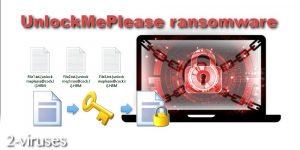 Le virus UnlockMePlease