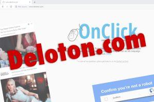 Les publicités Deloton.com